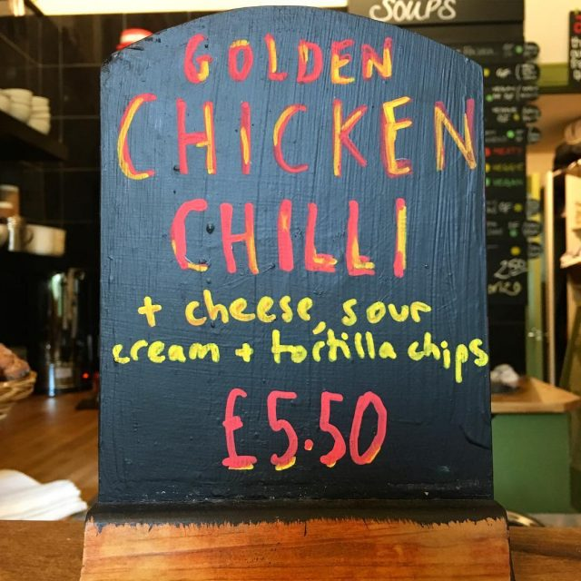 Come and get your Golden Chicken Chilli Edinburgh! unionofgenius youneedchilli
