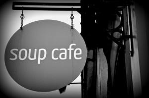 Union of Genius Soup Sign