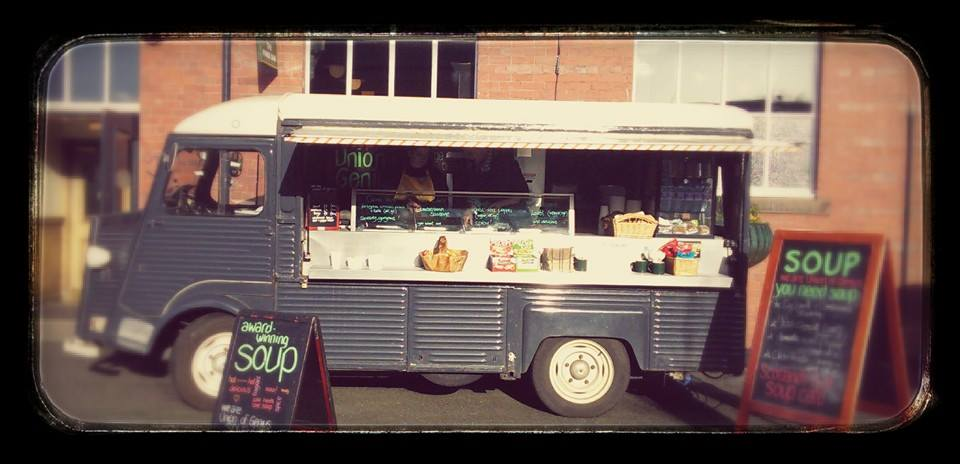 Our bespoke catering van