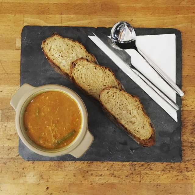Soup profile! Chicken Chana Masala a delicious buttery chicken andhellip