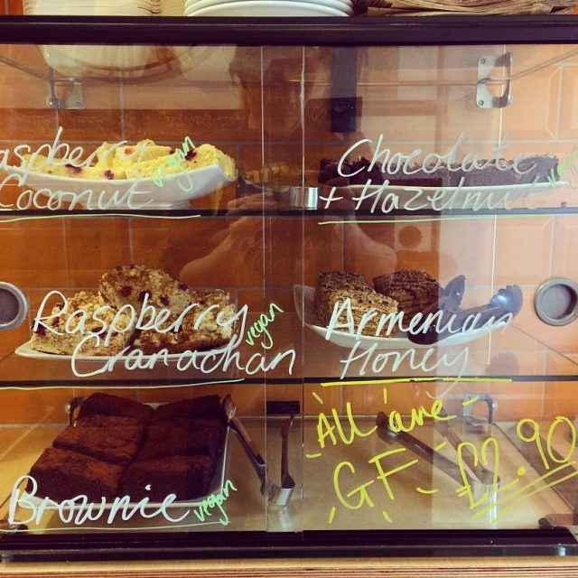 Our full cake selection is BACK All glutenfree all delicioushellip